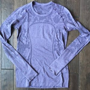 Rare Lululemon Swiftly Tech Crew Neck - Size 8